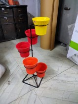 plant stand for 5 pot
