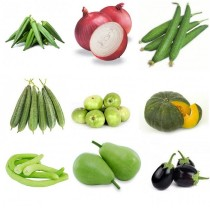 9 Summer Vegetables seeds combo