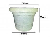 Alkarty 13 Inch Jugaur Round Pot