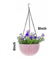 Alkarty 8 Inch Hanging Euro Basket