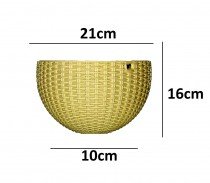 Alkarty 6 Inch Hanging Euro Basket