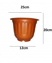 Alkarty 10 Inch Plastic Jasmine Pot