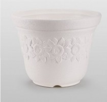 Alkarty  Plastic Planter 12 inches sunny pot