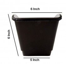 Plastic vertical garden pot 7*21