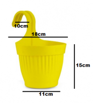 Plastic Dzire Pot-07 Hanging Planter