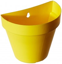 Wall Hanging Pot-Yellow