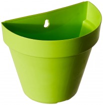 6 Inch Wall Planter- green