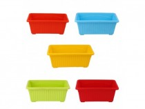 Alkarty 14 inch window planter in multiple colours set of 5