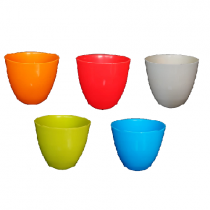 Cool Pots (13cm, Set of 5, Multicolour)